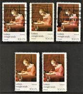 United States - Scott #1534-35 - 10 Different (4) - Plate Blocks & Sheetlets