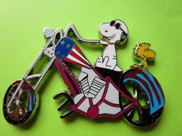Gros Pin's BD Snoopy Woodstock Moto Chopper - #216 - Comics