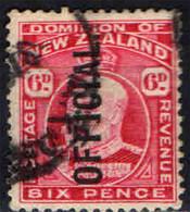 NUOVA ZELANDA - 1910 - RE EDOARDO VII - USATO - Officials