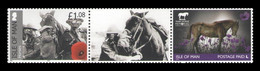 Isle Of Man 2020 Mih. 1915II 2667 Horses In World War I. Elegy To The War Horse MNH ** - Isle Of Man