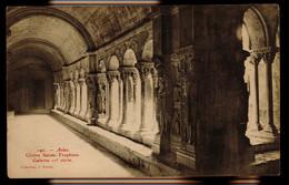 CPA BOUCHES DU RHONE ARLES N°190 CLOITRE SAINTE TROPHIME GALERIES XV°s COLL J POIREY - Arles