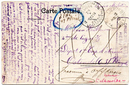 CV De LICHTERVELDE (8-X-1914) Vers Un Militaire Belge (P.M.B. 8), Nombreuses Recherches Puis REBUT - Invasion