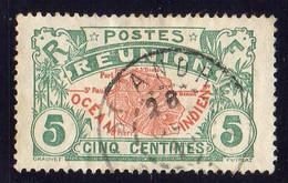 REUNION  ( POSTE ) : Y&T N°  59  TIMBRE  BIEN  OBLITERE . A  SAISIR . - Usados