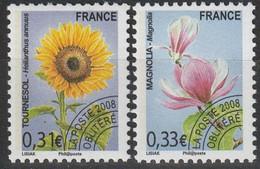 FRANCE 2008 Yv 257/8 MNH Neufs - 1989-....