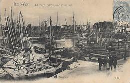 85 Vendée - CPA - ILE D'YEU - Le Port - Partie Sud -- Août 1903 - - Ile D'Yeu