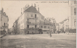 Haute Savoie : ANNECY : Rue Du  Paquier Et Rue  Vaugelas - Annecy