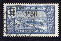 GUADELOUPE ( POSTE ) : Y&T N°  95  TIMBRE  BIEN  OBLITERE . A  SAISIR . - Usados