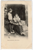 CPA 09 : Types Bethmalais (Hte Ariège) - Précurseur DND Avant 1904 - Ed. Fauré à St-Girons - Folklore - Sonstige Gemeinden