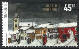 Norwegen Norway 2019. Mi.Nr. 2002, Used O - Usados
