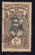 OCEANIE ( POSTE ) : Y&T N°  22  TIMBRE  BIEN  OBLITERE . A  SAISIR . - Used Stamps