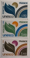 Série U.N.E.S.C.O N°50 à 52 Neufs** - Mint/Hinged