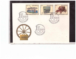 TEM15064  -  LUXEMBOURG  20.9.1993    /    LUXEMBOURG  FDC  MICHEL NR. 1324/1326 - Trains