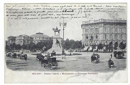 ITALIE - MILANO - RARE - Piazza Cairoli - 1904 - Milano
