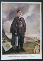 """Deutsches Reich, Postkarte """"Der Führer Und Befehlshaber Der Wehrmacht"""" Adolf Hitler - Ungebraucht - Covers & Documents"""