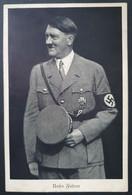 """Deutsches Reich 1938, Postkarte """"Ein Volk Ein Reich Ein Führer"""" WIEN Sonderstempel - Covers & Documents"""