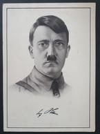 Deutsches Reich 1938, Postkarte Adolf Hitler, Sonderstempel WIEN, GRAZ, LINZ, BRAUNAU AM INN - Covers & Documents