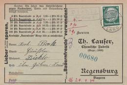 Deutsches Reich Karte Mit Landpoststempel Diehlo über Guben 2 1934 Stadt Eisenhüttenstadt  Landkreis Oder-Spree - Briefe U. Dokumente