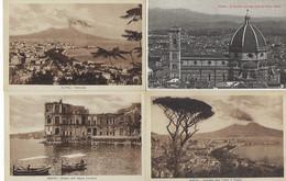 ITALIE - 18 CARTES - PISA / FIRENZE / NAPOLI / VENEZIA - Altri