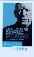 Ticket  Billet D'entrée Du Musée Du Louvre à Lens Pablo Picasso Octobre 2021 à Janvier 2022 - Tickets D'entrée