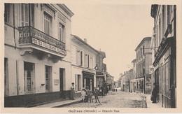 J6-33) GUITRES (GIRONDE) GRANDE RUE BUREAU DE POSTE  - (ANIMEE - VILLAGEOIS - 2 SCANS) - Other Municipalities