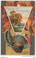U.S.A.:  A  HEARTY  THANKSGIVING  -  RILIEF -  FP - Thanksgiving