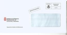 FRANQUEO PAGADO GOBIERNO DE NAVARRA ECONOMIA Y HACIENDA - 2011-... Lettere