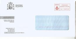 FRANQUEO PAGADO PAMPLONA MINISTERIO DE JUSTICIA - 2011-... Lettere