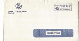 FRANQUEO PAGADO BANCO DE SABADELL - 2011-... Lettere