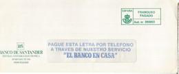 FRANQUEO PAGADO BANCO DE SANTANDER - 2011-... Lettere