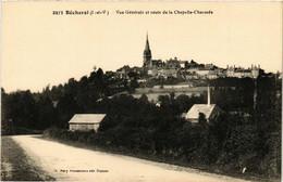 CPA AK BÉCHEREL Vue Générale Et Route De La Chapelle-Chaussée (357061) - Bécherel