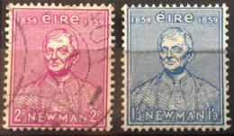 1954 / SERIE COMPLETE / N°Y-T : 124-125 - Used Stamps