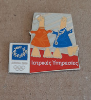 Athens 2004 Olympic Games - Internal Pin With Mascots #108, Medical Services L.E. 8000, Made By Efsimon. EXTRA RARE!!! - Jeux Olympiques