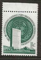 United Nations New York   1965  Head Office Mi 2, MNH(**) - Ungebraucht