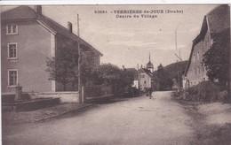 25 VERRIERES De JOUX Centre Du Village - Otros Municipios