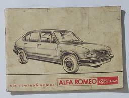 38940 Libretto Uso E Manutenzione - Alfa Romeo Alfa Sud - 3/1980 - Motori