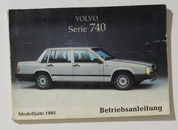 41005 Libretto Uso E Manutenzione - Volvo Serie 740 - 1985 - Motori
