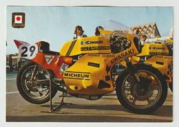Postcard - Ansichtkaart Motor: Kawasaki - Motos
