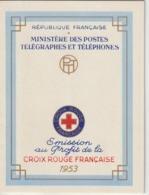 France Carnet Croix Rouge 1953  ** MNH - Croce Rossa