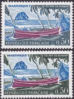 1644, Terre Et Palmiers Gris Au Lieu De Vert, Neuf - Varieties: 1970-79 Mint/hinged