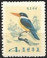 North Korea - MNH ** 1965 :   Black-capped Kingfisher  -  Halcyon Pileata - Andere