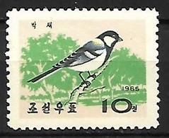 North Korea - MNH ** 1965 :   Japanese Tit  -  Parus Minor - Zangvogels
