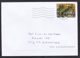 Netherlands: Cover, 2021, 1 Stamp, Frog, Animal (traces Of Use) - Covers & Documents