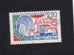 FRANCE YVERT & TELLIER N° 2556  Oblitéré  + CACHET ROND - REF MS - Used Stamps