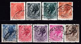! ITALY - 'Wmk. 277' / 9 Used Stamps CV $10 (k4703) - Lotti E Collezioni