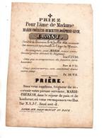 Doodsprentje M-Th. Ernst (Leuven 1840) - Devotieprenten