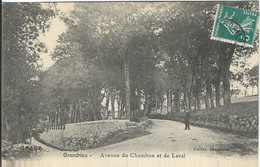 LOZERE : Grandrieu : Avenue Du Chambon Et De Laval - Gandrieux Saint Amans