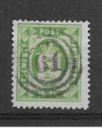 1871 USED Danmark Dienst Mi 3-A Superb Cancel - Dienstpost