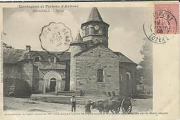 LOZERE : Nasbinals : L'église, Animée - Otros Municipios