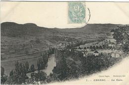 LOZERE : Chanac : La Gare - Chanac