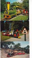 LOT1007.......... 10 CPSM PETITS TRAINS - 5 - 99 Cartoline